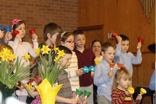 childrens bell choir